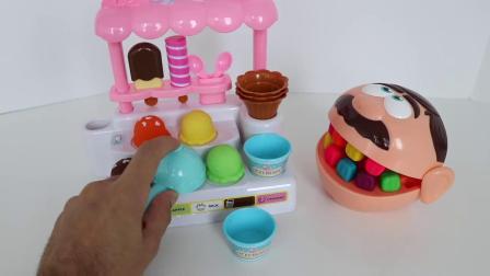 吃冰淇淋店,水果连连看 天线宝宝 米奇妙妙屋