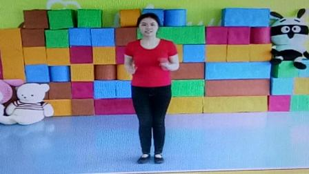 巴巴幼儿园小班音乐:两只老虎舞蹈