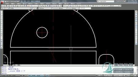 CAD命令 CAD命令大全 CAD制图初级入门——06.删除E.撤销.重生成RE