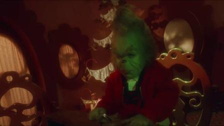 《圣诞怪杰》  礼物被嘲笑 绿毛娃逃离小镇留阴影