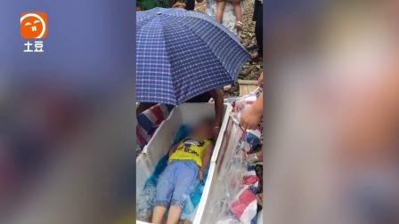 粗心父母将睡着孩子放入冰库  打开时已结冰?