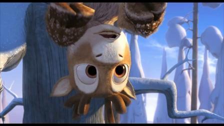 《极地大冒险》  小飞鼠扔球砸野狼 驯鹿群布阵御敌