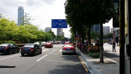 广州公交 18路 体育中心→赤沙(广东财经大学)总站 全程