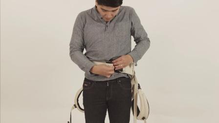 Mountain Buggy juno婴儿背袋前背模式操作视频2