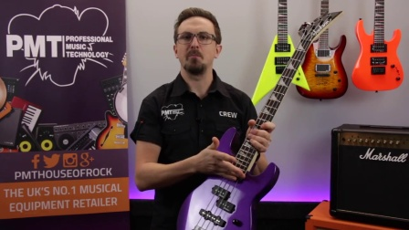 Jackson JS1X Minion Concert Bass - Review & Demo
