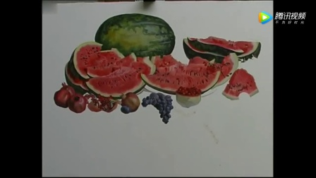 27。俄罗斯画家谢尔盖教你画水彩~~~今天画