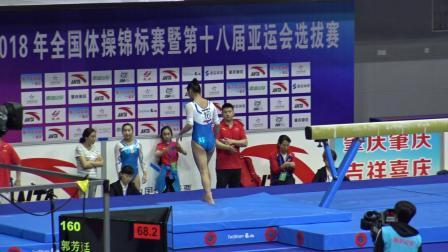 郭芳廷 - Guo Fangting (湖北) BB TQ 2018全国体操锦标赛,肇庆