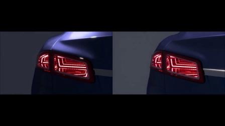 车尾灯3D效果360角度视频