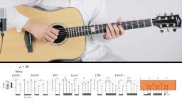 【玄武吉他教室】宋冬野《斑马斑马》精编吉他弹唱教学