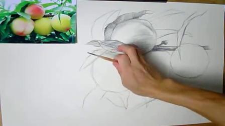 铅笔画教程动漫女 素描头像女生简单可爱 学素描的步骤