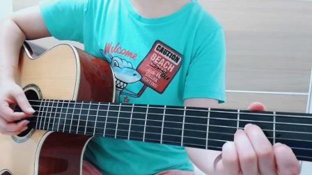 吉他弹唱《纸短情长》烟把儿乐队