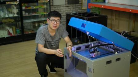 第二代发光字3D打印机