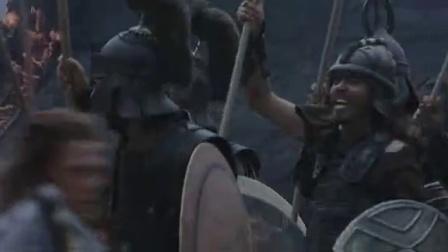 《特洛伊》  大战爆发 众勇士挥切割人头