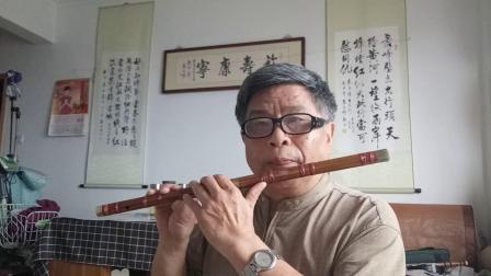 银西居士习吹笛曲《梨花颂》,欢迎指教。