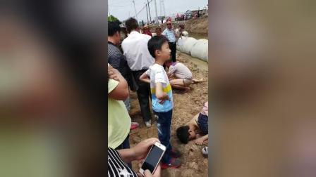 陈行附近3少年溺亡-2