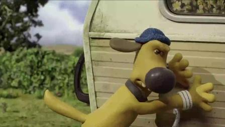 《小羊肖恩》  车厢意外失去控制 载农夫冲向城市