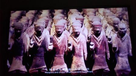 西汉刘邦墓陪葬兵马俑