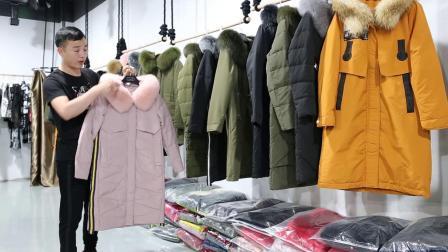 5.22《雅莹》品牌冬装羽绒服,100%毛领,101件一份