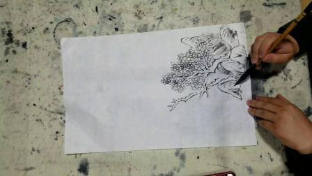 江华美术山水画教程