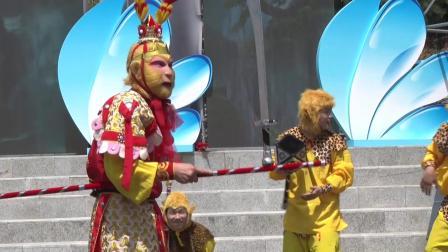 美猴王演员于尚秦岭精彩演出