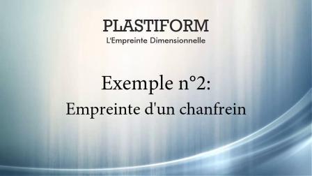 法国PLASTIFORM尺寸复制胶(P80 Ra) 应用之环槽倒角复制测量
