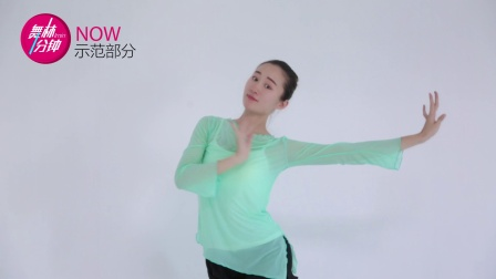 舞林一分钟 中国舞《落花》古典舞教程03-米拉(非镜面)
