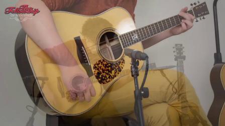 Santa Cruz Tony Rice - Brazilian at The Fellowship of Acoustics
