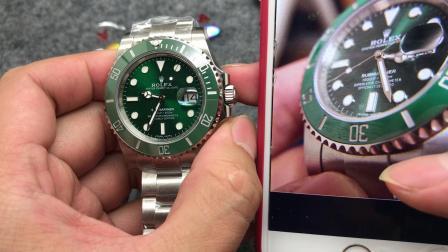 NV8 绿水鬼 904L版本和316钢版本究竟有什么不同 116610LV