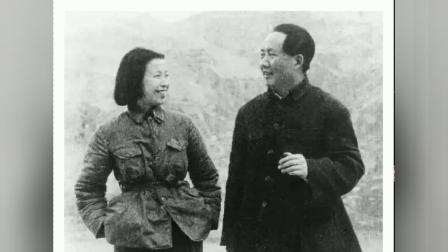 毛主席和江青的照片