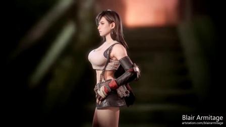 【电玩巴士】拳头角色设计师打造《最终幻想7》蒂法