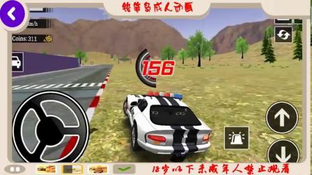 漂移汽车模拟器驾驶3D汽车漂移游戏新警车解锁Android游戏玩法1