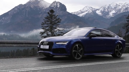 2017 Audi RS7 Performance 605hp rocking the Tatra Mountains
