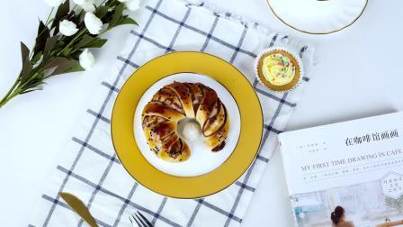 干货分享!花式豆沙弯月面包这样做颜值更高