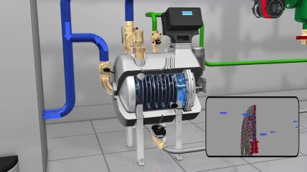 卡莱菲磁性除污机