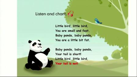 Read aloud & Let's chant