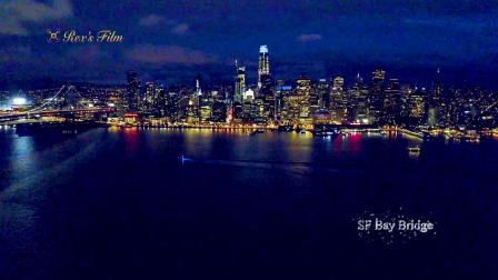 SF Bay Bridge舊金山海灣大橋夜景
