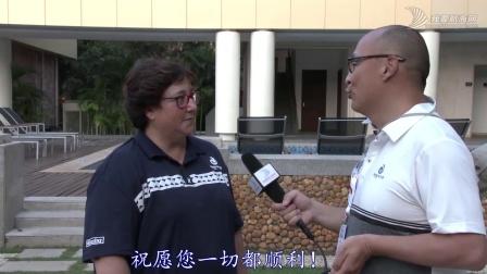 专访碧桂园杯2018海帆赛首席裁判长Marina女士