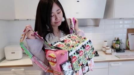 超有创意!居然有可以吃的零食书包?