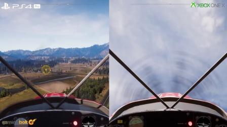 【游侠网】《孤岛惊魂5》Xbox One X与PS4 Pro画面对比