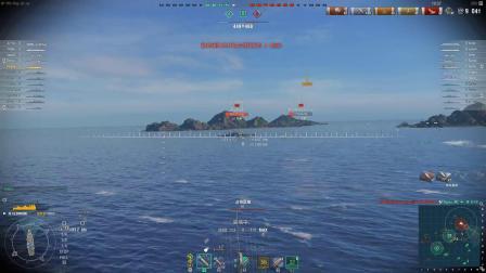战舰世界 海战时代66 开战列开成这样你能信