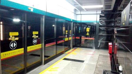 广州地铁8号线琶洲不停站通过 凤凰新村方向 开回赤沙车辆段 南车株机a型列车 南车时代牵引