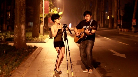 【现弹现唱】吉他弹唱 李玟 - 美丽笨女人(郝浩涵和米艾)