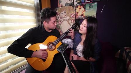 吉他弹唱 亲爱的那不是爱情(郝浩涵和韩晶粒)