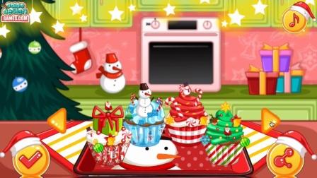 一起来做圣诞纸杯蛋糕