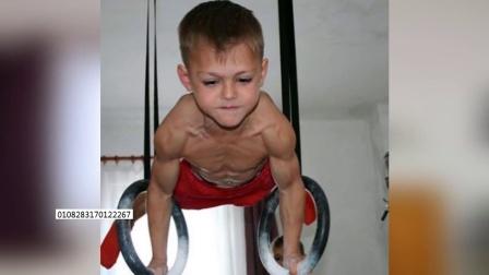 朱利亚诺斯特勒 改写全球最强壮男孩历史 载入吉尼斯世界纪录
