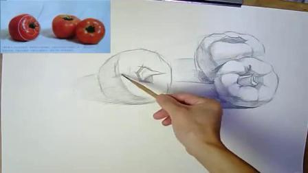 动漫速写图片 静物素描步骤图解图片 圆珠笔素描入门