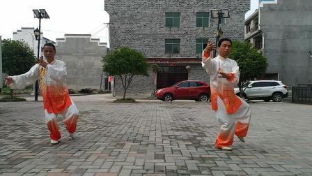 刘杨传统杨氏27式太极拳练习