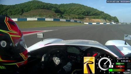 Radical全新入门赛车SR1宁波赛车场1分50单圈车载视频