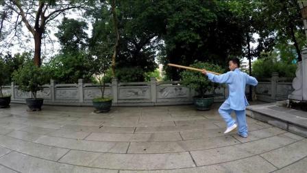 武当棍-林诗凯