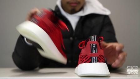 adidas NMD R2 PK Red Black 实物细节近赏